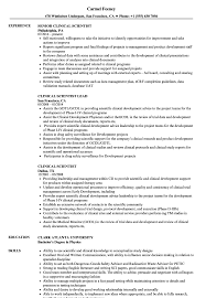 Download Clinical Scientist Resume Sample As Image File