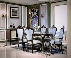klassisches esszimmer set ovaler tisch 4 stühle sessel gruppe garnitur set neu