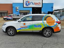 100 Thrifty Truck Rentals Custom Signage Perth Car Wraps Recent Works Nutech Signs Print