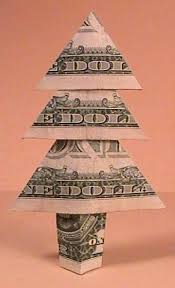 Money Xmas Tree By Clay Randall