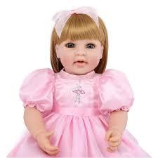 Bambola Piena Del Silicone Del Bambino Rinato Bambola Realistica
