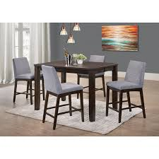 Picket House Furnishings Pyke 5 Piece Counter Height Extension Dining Table Set