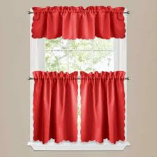 Kmart Curtains And Drapes by Ideas Red Kitchen Curtains And Valances Kmart Curtain Tier Sets