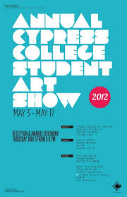 Art Show Poster Inspiration Student ShowStudent Posters