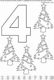 Christmas Tree Books For Kindergarten by Kids Math Learning Kids Math Activities Numbers With Pictures
