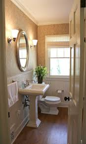 Half Bathroom Ideas With Pedestal Sink by Ten June Guest Bathroom Makeover The Final Before U0026 After