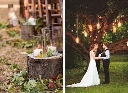 Rustic Wedding Ceremony Decorations Outdoor