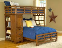 Double And Twin Bunk Bedkids Furniture Alpine Ii Double Twin Bunk