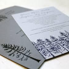 Hand Painted Winter Wedding Invitations