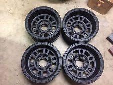 16x8 Weld 16 Mountain Crusher Super Single Rims Wheels Set Of 4 5x55