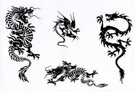 Pin Tribal Chinese Dragon Tattoos On Pinterest