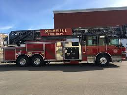 MFD Receives New Ladder Truck | Merrill Foto News Pin The Ladder On Fire Truck Party Game Printable From Chief New Now In Service Spokane Valley Leadingstar Car Toys Children Inertial Aerial Smeal 6x6 Engines And Pinterest Photos Towers Inc Seattle Rosenbauer Trucks Engine Wikipedia 13 Assigned To West Fileimizawaeafiredepartment Hequartsaialladder 1952 Crosley Kiddie Hook Suppliers Turning Radius Youtube