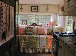 Cute Old Camper Interior