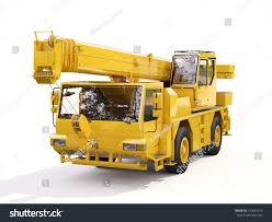 Truck Mounted Crane Stock Illustration 230047555 - Shutterstock