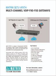 VoIP - FXO / FXS Gateways | 4-8-16-32 Ports FXO/FXS Gateways
