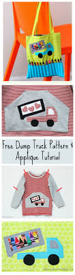 Free Dump Truck Applique Pattern & Tutorial   FREE Sewing Patterns ... Personalized Birthday Dump Truck Applique Shirt Or Bodysuit Girl Boy Valentines Day With Hearts Boyss Tow Machine Embroidery Design Blue Green Boy Christmas Mardi Gras Crimson Football Dumptruck Little 2 Dump Truck Applique Etsy Shamrock Saint Patricks Embroitique Gifts Filled For