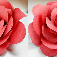 Paper Flowers Rose Diy Tutorial Easy For Children Origami Flower With How To Make Roses Step By Pictures