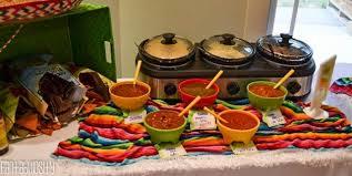Fiesta Housewarming Party Ideas Variety Of Salsas A Salsa Tasting And Bar