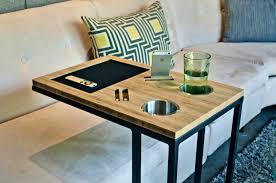 Sofa Snack Table Walmart by Apartments Excellent Table Slides Under Sofa Oceansaloft Slide