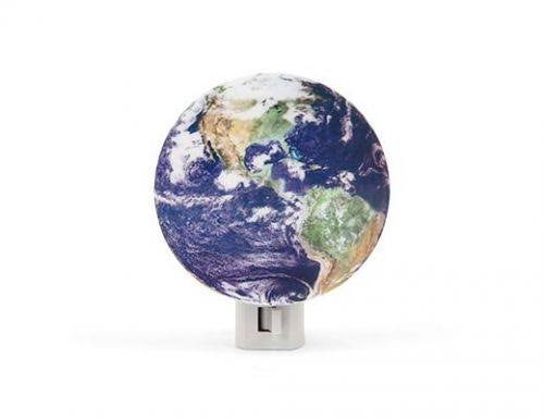 Kikkerland Earth Night Light Mood Lamp