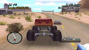 Cars The Game - Lightning McQueen Monster Truck Bonus Car - Gameplay ...