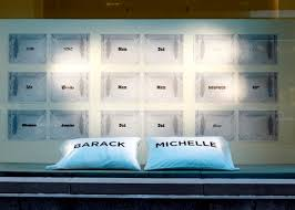 The Windows Of Calvin Klein Collection Store On East 60th Street In New York Devoted Pairs Pillows To Some Worlds Most Celebrated Couples