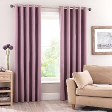 Bendable Curtain Track Dunelm by Luna Mauve Blackout Eyelet Curtains Mauve Bedrooms And Lights