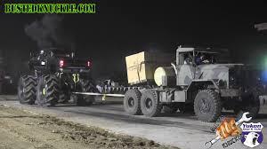 Five Ton Military Truck Stomps Cummins Mega Truck In Tug Of War