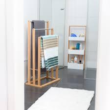 handtuchhalter handtuchhalter stehend bambus badhalter