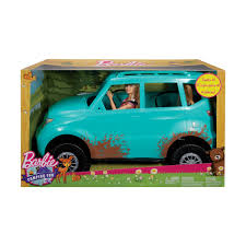 Barbie Camping Fun Doll Vehicle Kmart