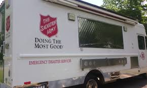 100 Salvation Army Truck Meal Program Saint Theresa Parish