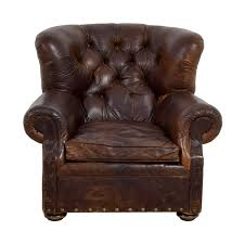 74% OFF - Restoration Hardware Restoration Hardware Brown Leather Accent  Chair / Chairs Seville Leather Accent Chair Star Fniture Details About Classic Chesterfield Scroll Arm Tufted Match Light Brown Braden Brandy Pulaski Wood Frame Faux In Lummus Cognac Dsd0003460 Wolf Rustic Bronze Vintage Brown Leather Accent Chair Bright Modern Fniture Dark Leatherlook Fabric I8046 84 Off Ethan Allen Ottoman Chairs Frank Leatherlook Fabric Dark Jude Universal Modern Jsen In Brompton Vintage Acme 53627