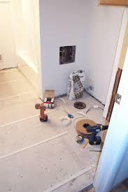 Easy Heat Warm Tiles Thermostat installing a heated bathroom floor ryan hobbies