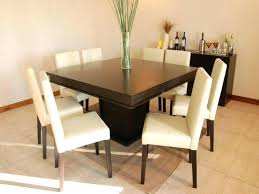 8 Seat Dining Room Table Tables Inspiring Square