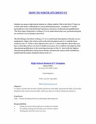 resume exles for highschool students college student