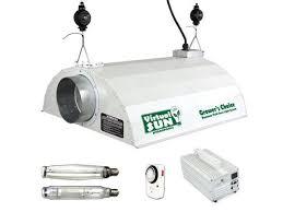 1000 Watt Hps Lamp Height by Virtual Sun 1000w Hps Mh Grow Light Hood Magnetic Ballast System