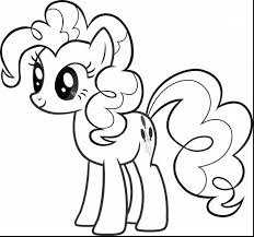 Stunning My Little Pony Pinkie Pie Coloring Pages With Printable Page And