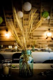 Non Floral Centerpieces With Vintage Rustic Feel