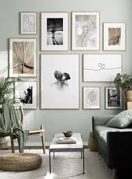 soft wall gallery wall wohnzimmerdekoration