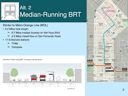 Draft study released for BRT or rail project between Van Nuys and