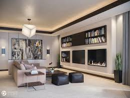 living room cozy living room features large abstract painting