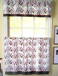White Cafe Curtains Target by Red Kitchen Curtains U2013 Teawing Co