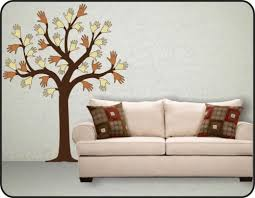 large autumn spring tree vinyl wall decals stickers fun art