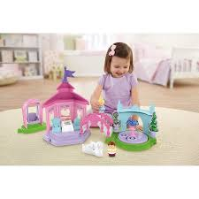 fisher price little people disney princess garden party playset