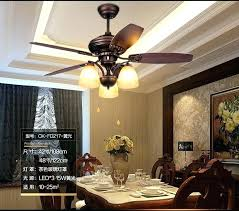 Surprising Dining Room Ceiling Fans And Table Fan With Lights For Well