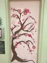 Japanese Cherry Blossom Bathroom Set by Spring Classroom Door Japanese Cherry Blossom Tree Classroom