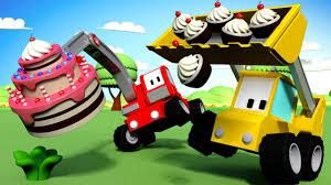 100 Truck Birthday Cakes The Cake Tiny S Cartoon For Children With Bulldozer