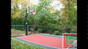 Backyard Basketball Court | Backyard Bar And Grill College Park ... Multisport Backyard Court System Synlawn Photo Gallery Basketball Surfaces Las Vegas Nv Bench At Base Of Court Outside Transformation In The Name Sketball How To Make A Diy Triyaecom Asphalt In Various Design Home Southern California Dimeions Design And Ideas House Bar And Grill College Park Half With Hill