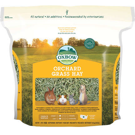 Oxbow Animal Health Orchard Grass Hay for Pets - 40oz