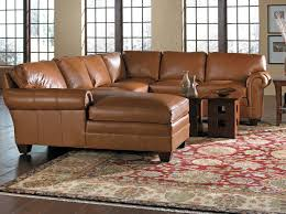 Stickley Leather 8666 Sectional Toms Price Home Furnishings